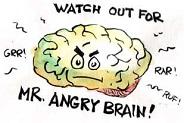 Mecanismele fiziologice si psihologice care stau la baza furiei