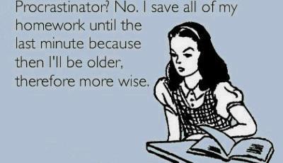 Cauzele procrastinarii